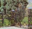 ворота и заборы кованные_3